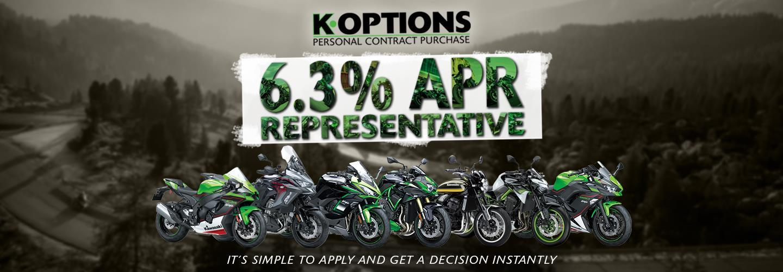 6.3% APR REPRESENTATIVE ON K.OPTIONS PCP
