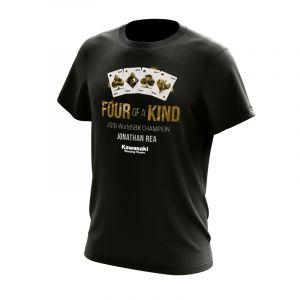 Jonathan Rea 2018 WSBK Champion T-shirt - FOUR of a KIND