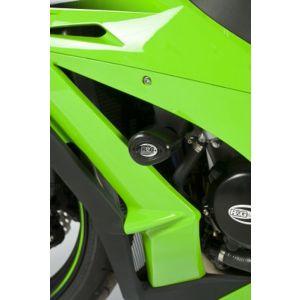R&G Aero Crash Protectors - Kawasaki ZX10 – White