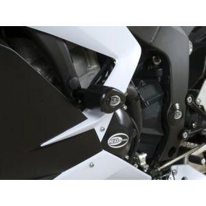 R&G Aero Crash Protectors (Upper) - KAWASAKI ZX636R – White