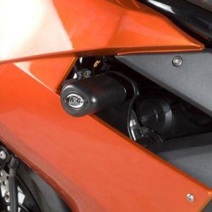 R&G No-cut Aero Frame Sliders - Kawasaki ER6-F