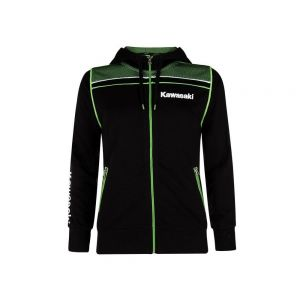 Kawasaki Sports Hooded Sweatshirt Ladies
