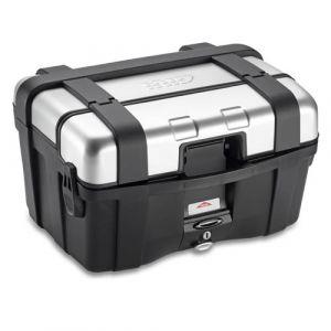 Givi TRK46N Trekker Silver Top Case - 46 LTR