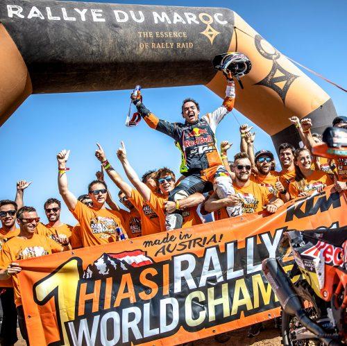 MATTHIAS WALKNER CLINCHES KTM'S THIRD CONSECUTIVE FIM CROSS-COUNTRY RALLIES WORLD CHAMPIONSHIP