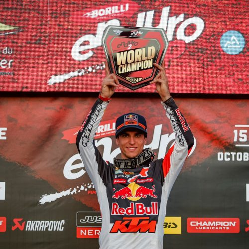 KTM'S JOSEP GARCIA IS CROWNED FIM ENDURO2 WORLD CHAMPION AFTER SUCCESSFUL 2021 SEASON