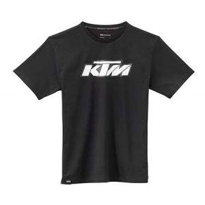 KTM SX Logo Tee - Black T-shirt