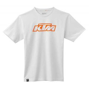 KTM SX Logo Tee - White T-shirt