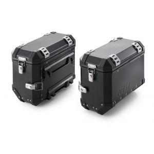 KTM 990 Adv / SM-T / SM / R Aluminium Case Left Black