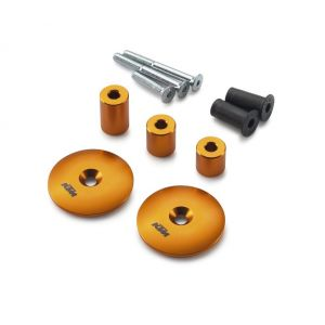 KTM 1050/1190/R/1290 Adventure Swingarm Bolt Cover Set