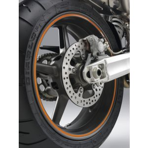 KTM 125/390 Duke Rim Sticker Set- White