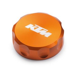 KTM Anodised Clutch Fluid Reservoir Cover - Orange