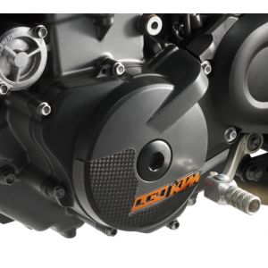 KTM 690 Duke / Enduro Carbon Ignition Cover Protection