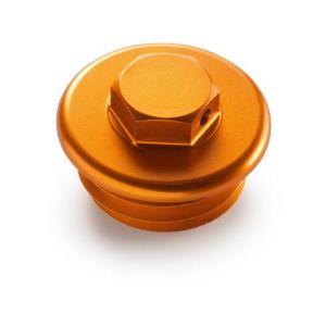 KTM Orange CNC Oil Plug - 690 Duke / Enduro