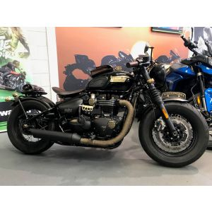 "Triumph Bobber Black - Custom ""Brass Neck"" - 2018"