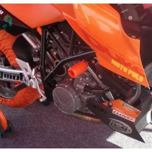R&G Crash Protectors (upper) - KTM 990/990R Super Duke/SM/SMR/SMT – Orange
