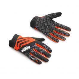 KTM GRAVITY-FX MX GLOVES - Black / Orange