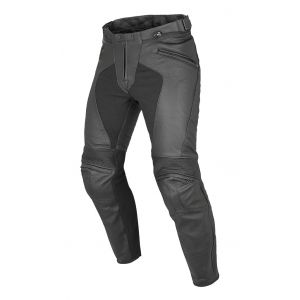 Dainese Pony C2 Leather Jeans - Black