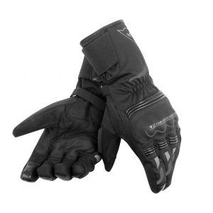 Dainese Tempest D-Dry Long Gloves - Black / Black