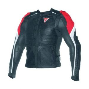 Dainese Sport Guard Armoured Jacket - Black/Red/White
