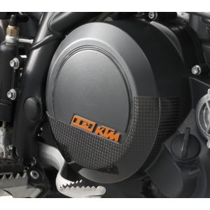 KTM 690 Duke / Enduro Carbon Clutch Cover Protection