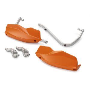 KTM 1050/1190/R/1290 Adventure Aluminium Handguards - Orange
