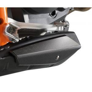 KTM 690 Duke 2012 Carbon Exhaust Cover - Left