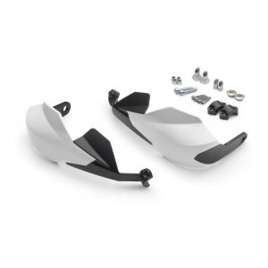 KTM 125/390 Duke  Handguards Large - White