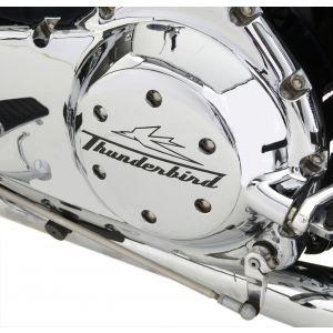 """Triumph Thunderbird Clutch Cover Chrome - """"Triumph"""""""