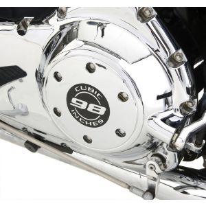 "Triumph Thunderbird Clutch Cover Chrome - ""98 Cubic Inches"""