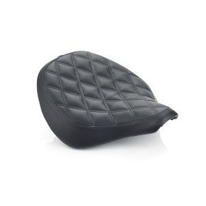 Triumph Bobber Quilted Seat - Black