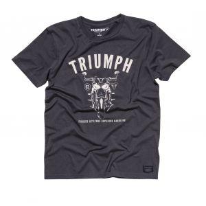 Triumph Cann Motorcycle T-shirt - Black
