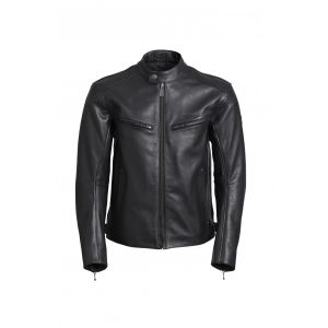 Triumph Copley Leather Motorcycle Jacket - Black