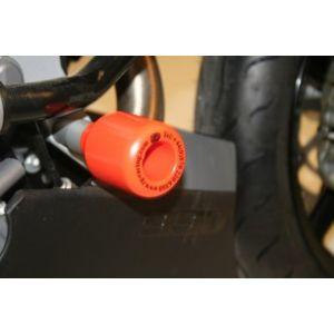 R&G Crash Protectors (lower) -  KTM 990/990R/SMR/SMT/SM – Orange