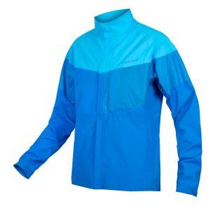 Endura Urban Luminite Cycle Jacket II - Hi-Viz Blue