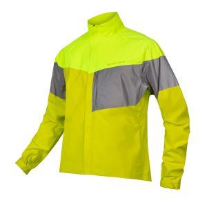 Endura Urban Luminite Cycle Jacket II - Hi-Viz Yellow