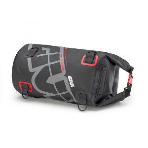Givi EA114GR Waterproof Roll Seat Bag - 30L - Grey Red