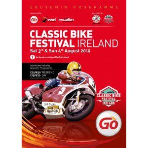 Classic Bike Festival Ireland - Souvenir Programme 2019