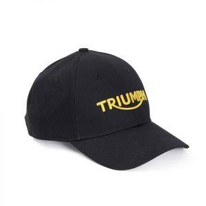 Triumph Logo Mundesley Cap - Black / Gold