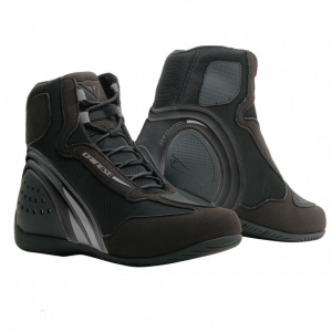 Dainese Motorshoe D1 Ladies WP Boots - Black / Black / Anthracite