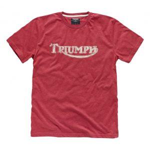 Triumph Vintage Logo T-Shirt - Red