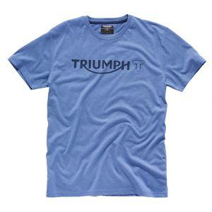 Triumph Blue Logo T-Shirt