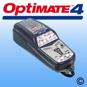 OptiMate 4 Dual Program 12V Battery Charger/Optimiser