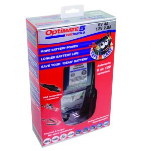 OptiMate 5 Voltmatic - 6V/12V Battery Charger/Optimiser
