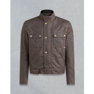 Belstaff Brooklands Mens Motorcycle Jacket - Brown