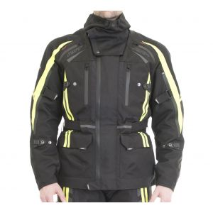RST Pro Series Paragon V Jacket - Black / Flo Yellow