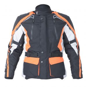 RST Rallye Textile Jacket - Flo Red