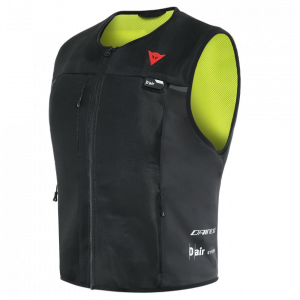 Dainese D-Air Smart Vest - Black/Fluo-Yellow