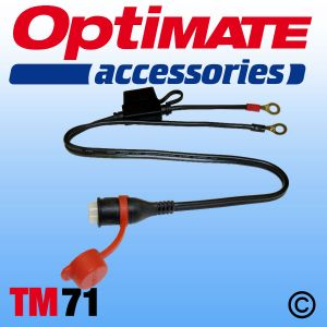 Optimate TM71 Weatherproof Eyelet Lead