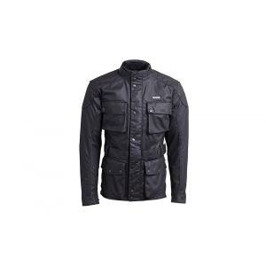 Triumph Beck Mens Waxed Motorcycle Jacket