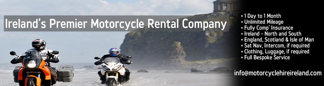 Ireland's Premier Motorcycle Rental Company